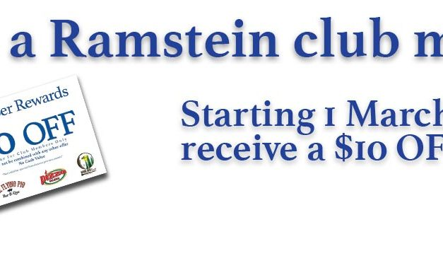 New Benefit for Ramstein Club Members