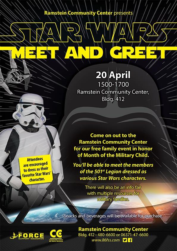 Star Wars Meet & Greet | 86 FSS