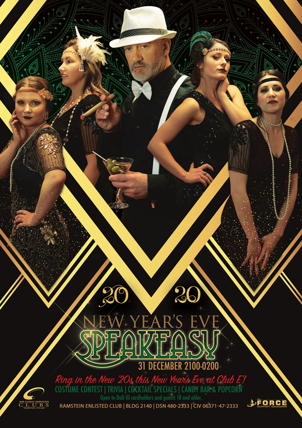 New Year S Eve Speakeasy Party 86 Fss