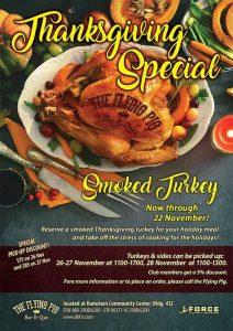 Smoked Turkey Thanksgiving Special