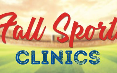 Registration Open for Fall Sports Clinics