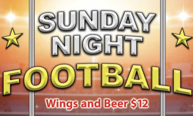 Sunday Night Football at Chili's