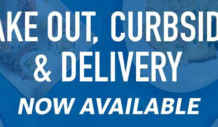 Take Out, Curbside, & Delivery Options are BACK!
