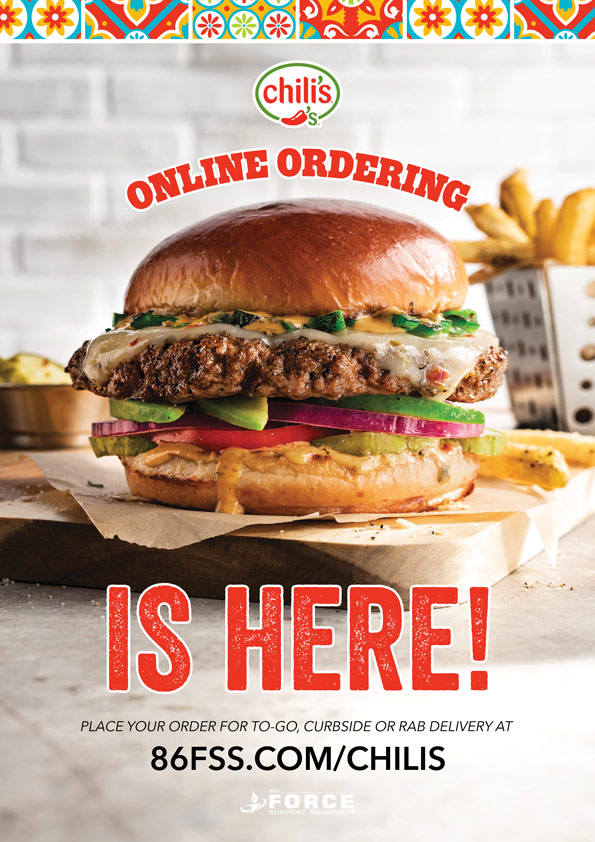 Chili's Online Ordering is HERE!