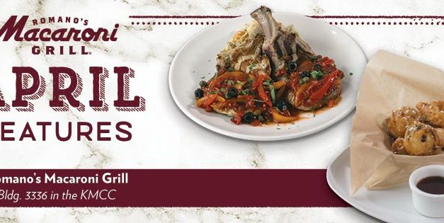 April Feature at Macaroni Grill