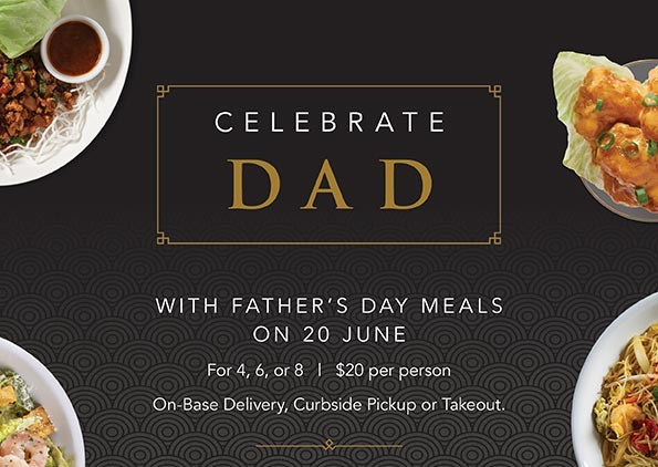 Father's Day with P.F. Chang's