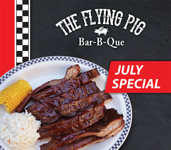 July Flying Pig Special