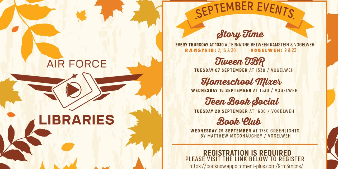 September Events at the Library