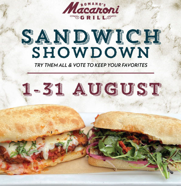 August Macaroni Grill Features