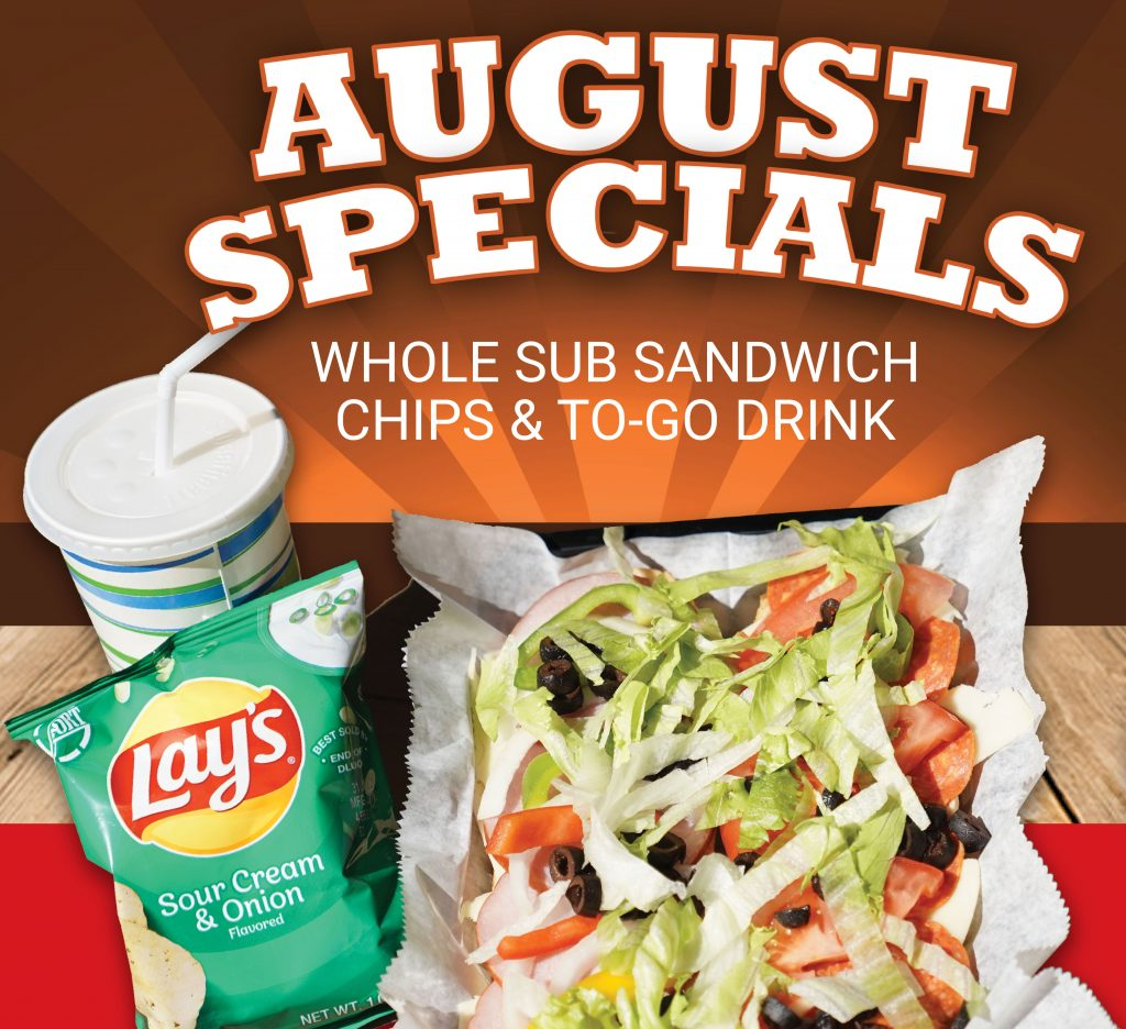 August Pizza Gallerie Special