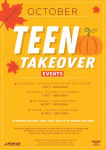 October Teen Takeover