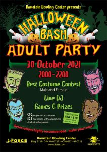 Halloween Bash Adult Party
